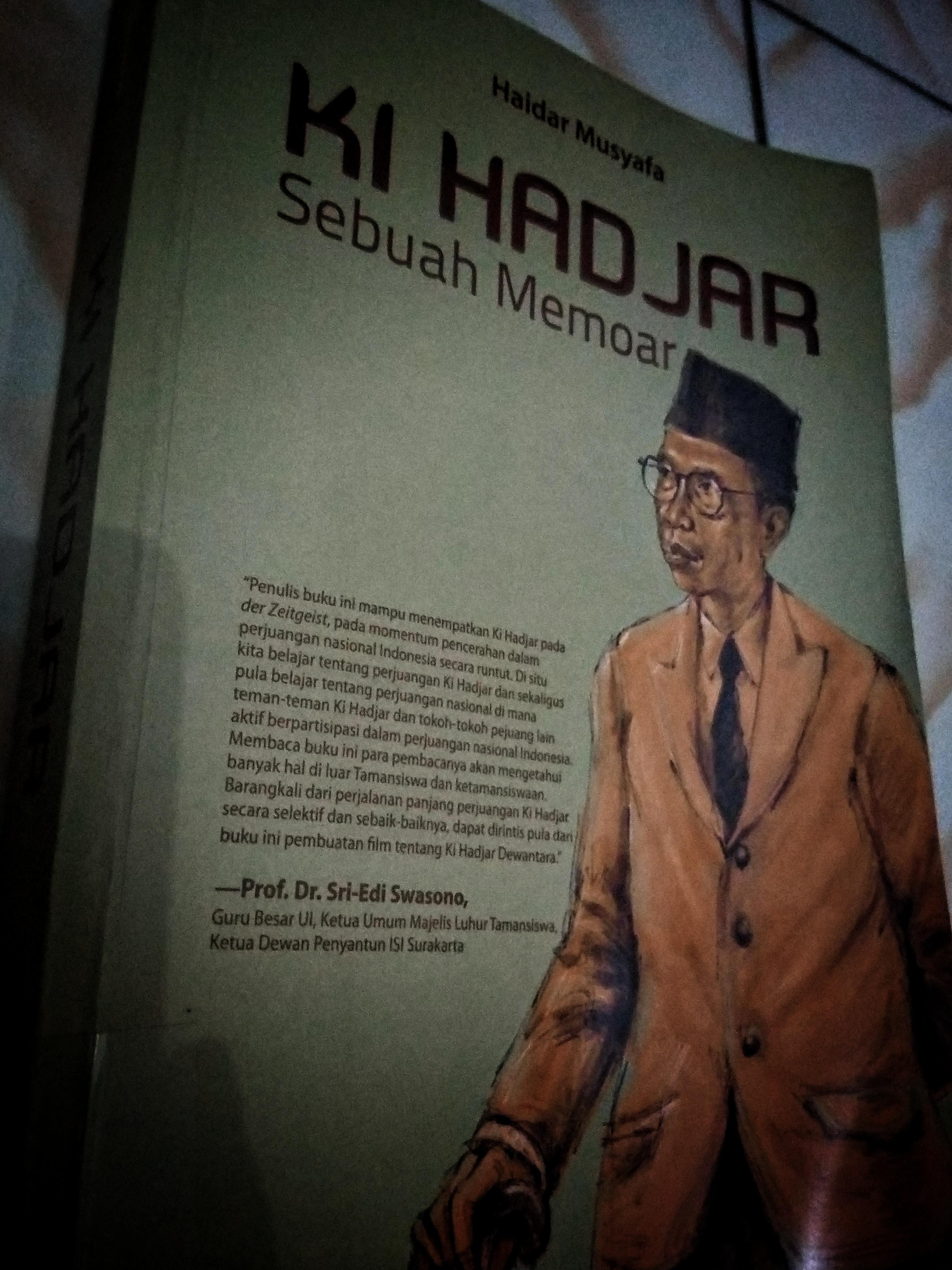 Novel Ki Hadjar: Sebuah Memoar