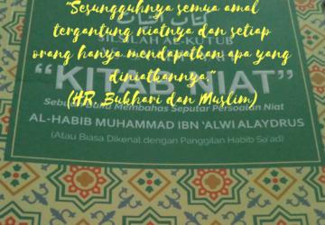 Mengupas Kitab Niat Karya Habib Sa'ad